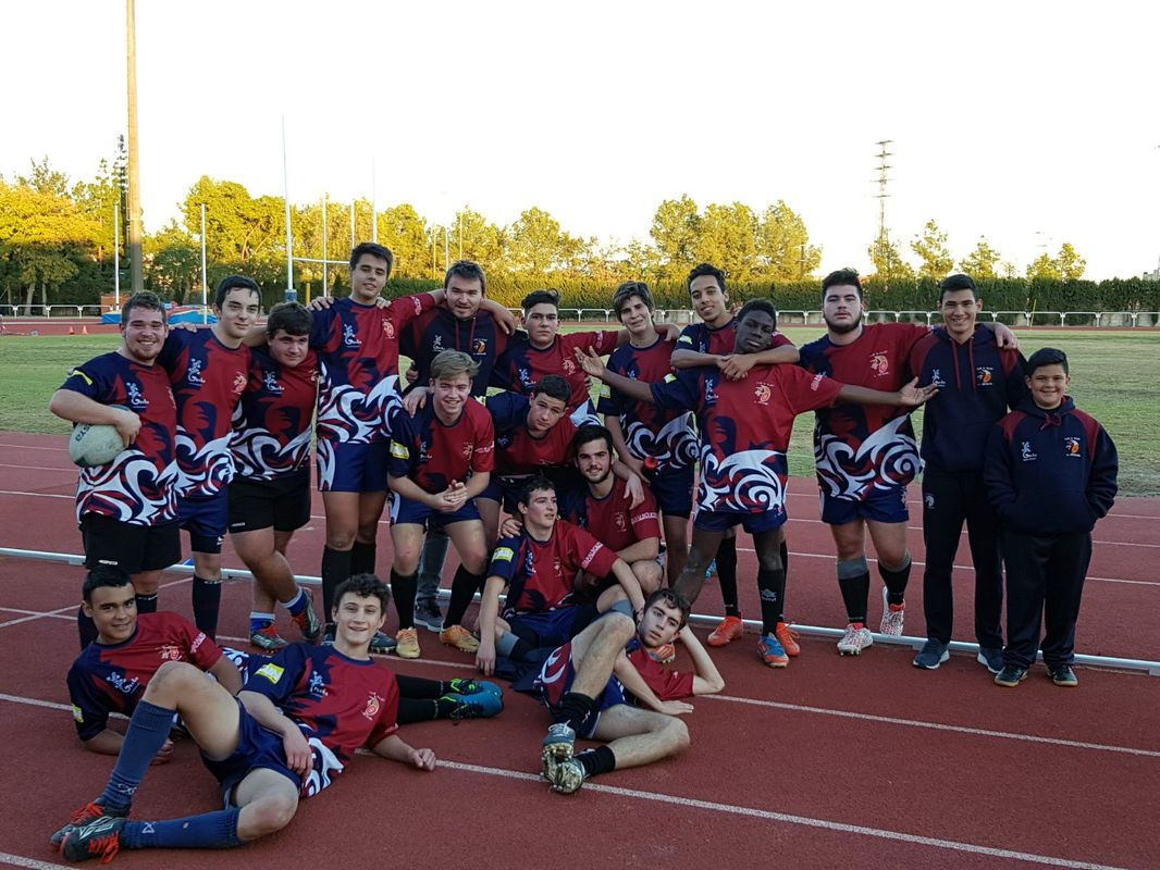 Victorias de masculino senior y Sub-18 del Club de Rugby Universitario Cartagena