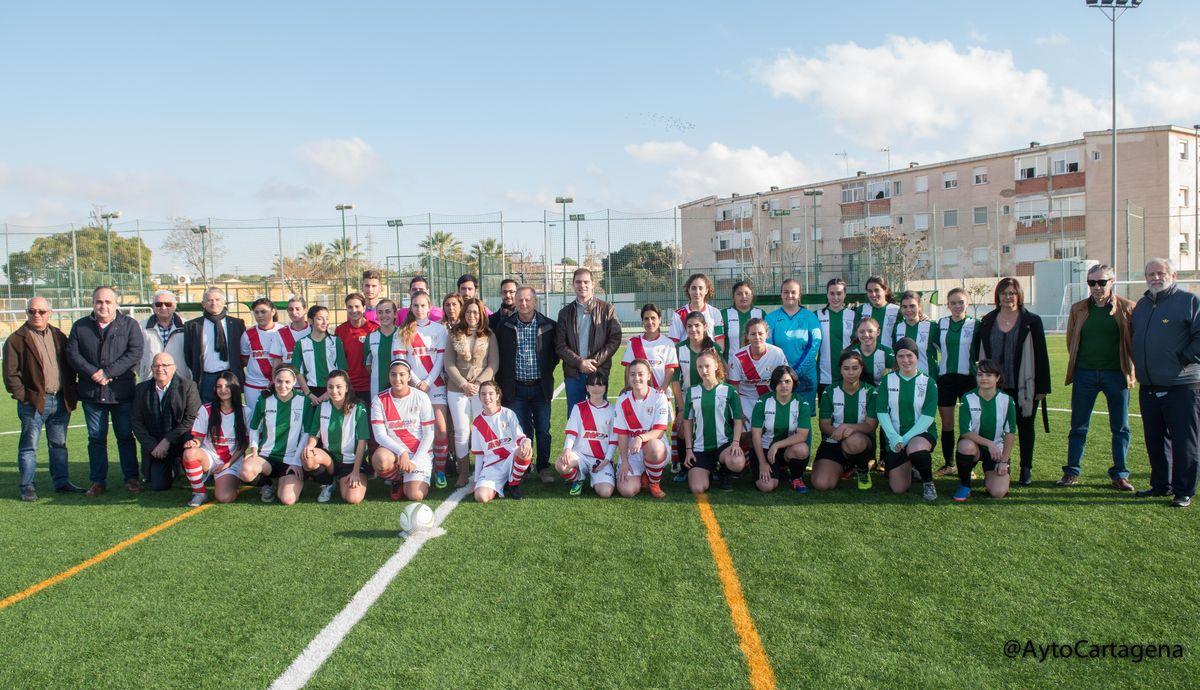 Celebración del 50 aniversario del EF Esperanza e inauguración del nuevo césped del campo de fútbol 'López Belmonte'