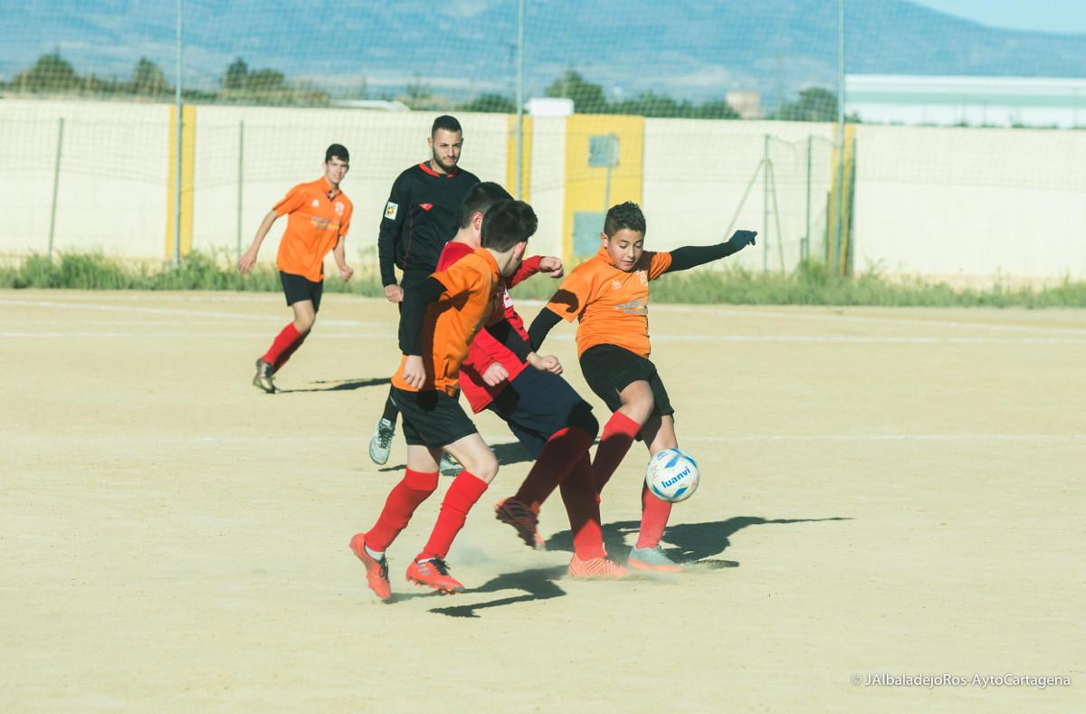 Jornada 9 de la Liga comarcal de fútbol base