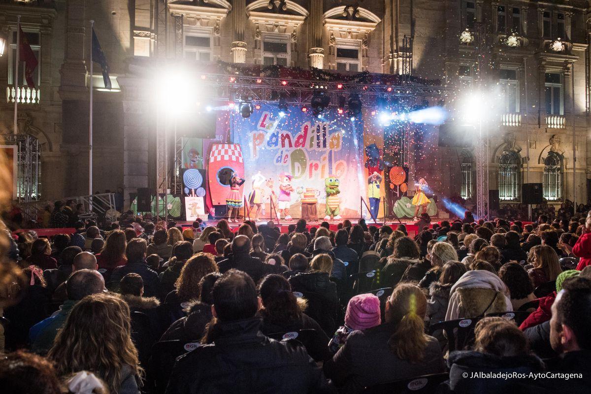 Teatro infantil Navidad- La Pandilla Drilo - Plaza del Ayuntamiento