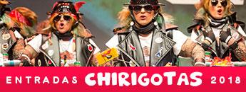 Entradas Chirigotas 2018