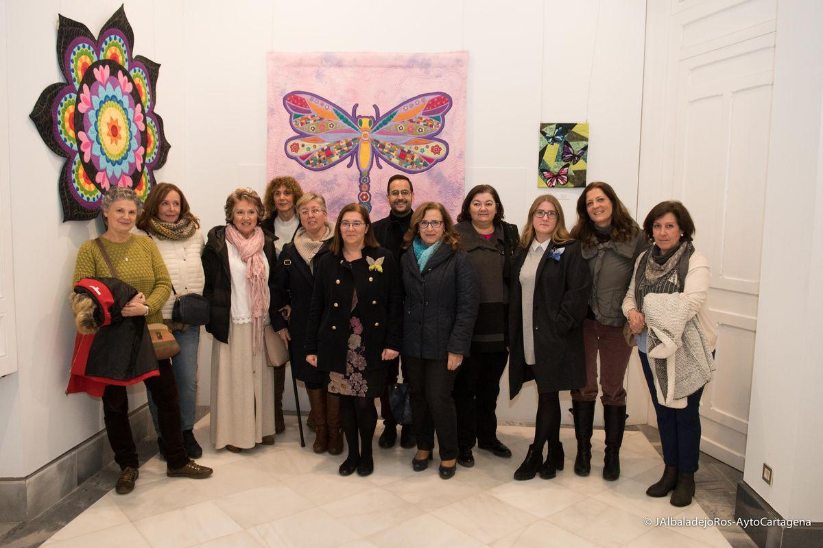 Exposición 'Mariposarium' de Sonsoles Ponti