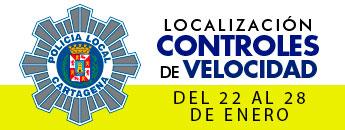 Controles de Velocidad. Del 22 al 28 de enero 2018