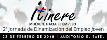 Itínere 2018. 2ª Jornada de Dinamización del Empleo Joven