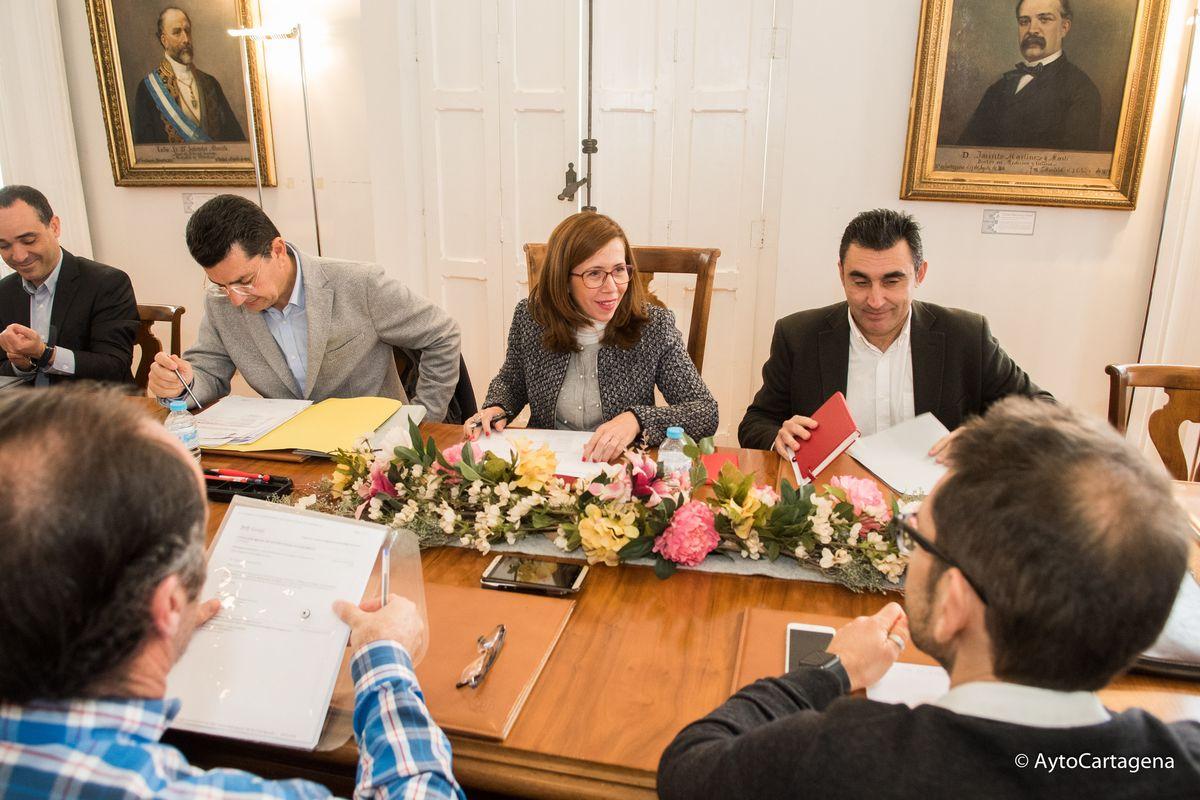 Reunión de la Comisión de Estrategia Económica de Empleo