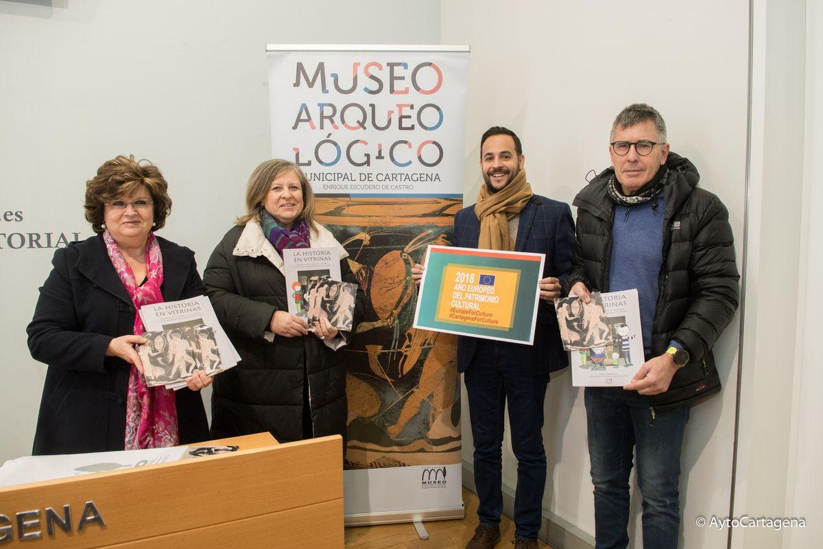 Presentación de las actuaciones con motivo del Año Europeo del Patrimonio
