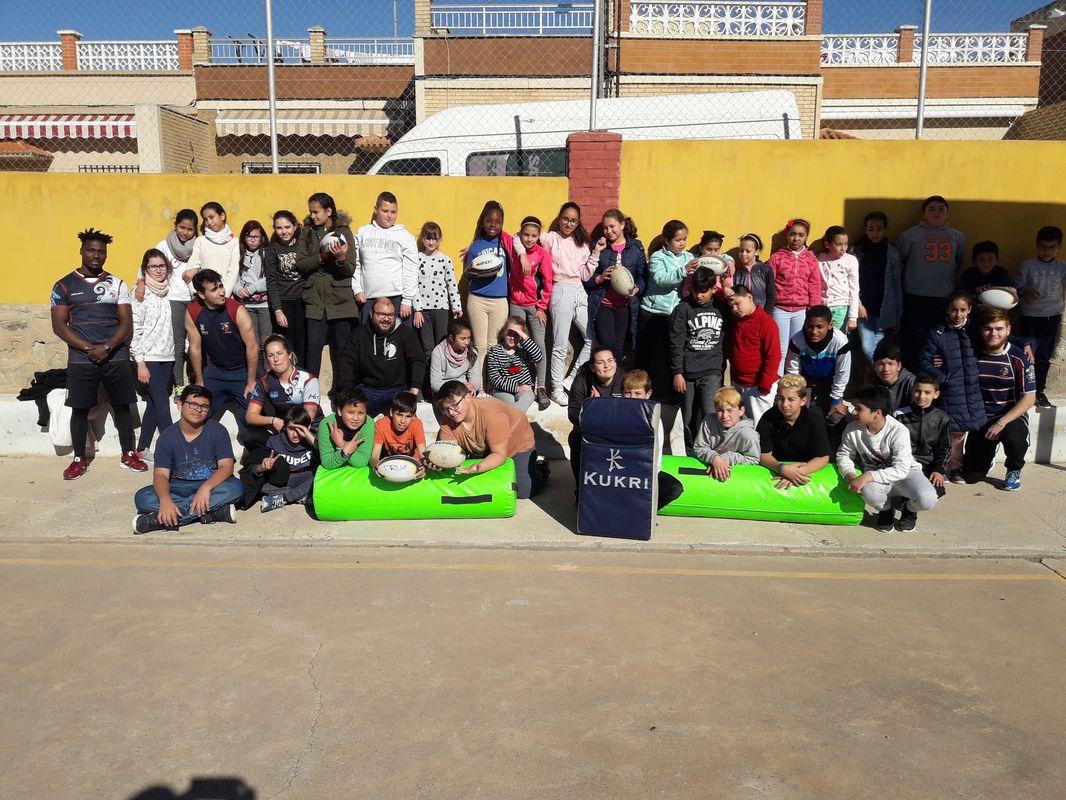 Visita del CUR Cartagena al CEIP Feliciano Sánchez