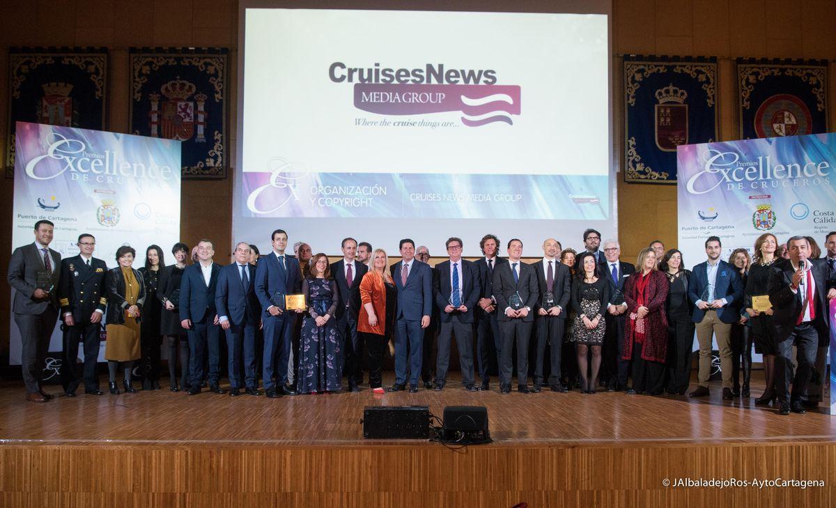XI Gala Premios Excellence de Cruceros-