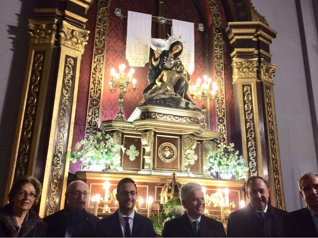 Jueves de Ceniza Cofradía de la Virgen de la Caridad de la Asociación Cartageneros en Madrid-David Martínez