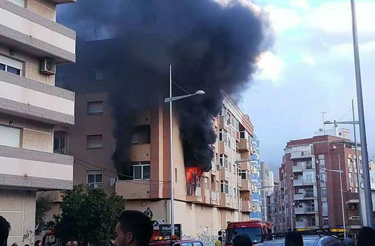 Se quema la casa de Dani R?uros