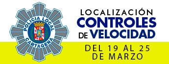 Controles de Velocidad. Del 19 al 25 de marzo de 2018