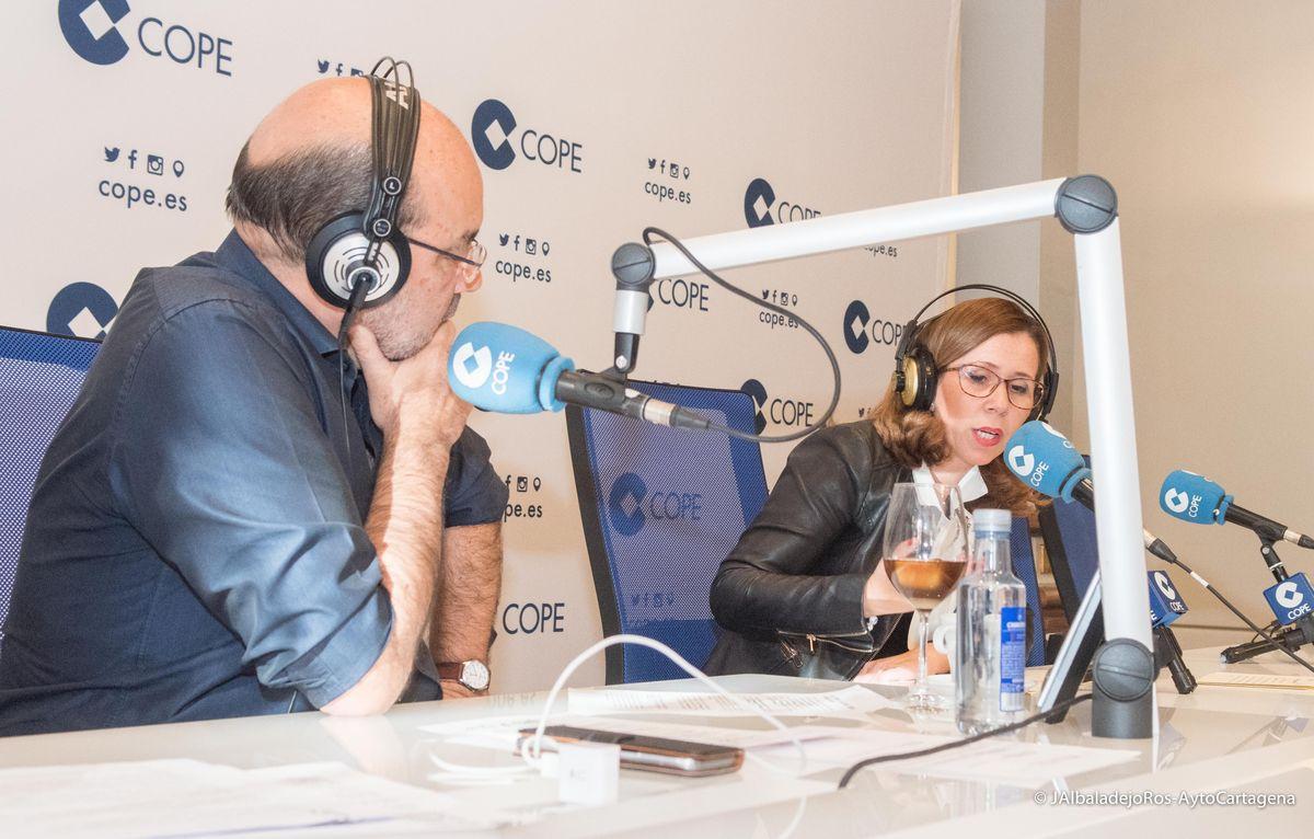 La Tarde con Ángel Expósito, de Cadena COPE, en Cartagena