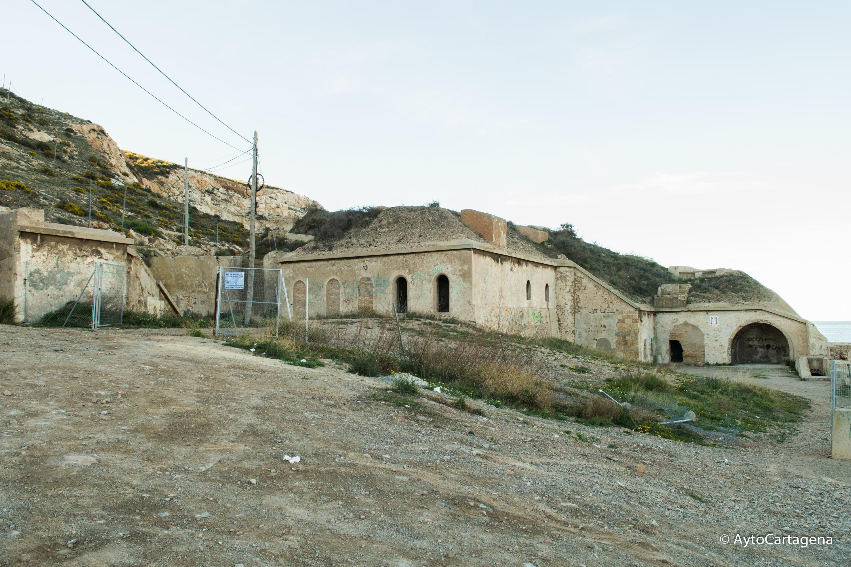 Visita a la Batería de San Leandro