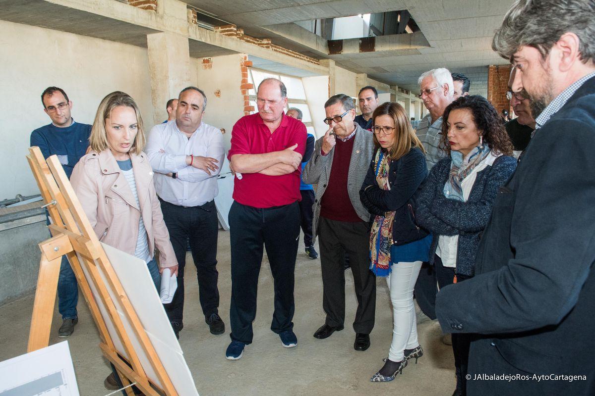 Visita al Estadio Urbanización Mediterráneo