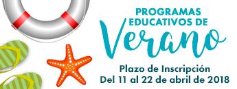 Programas Educativos de Verano 2018
