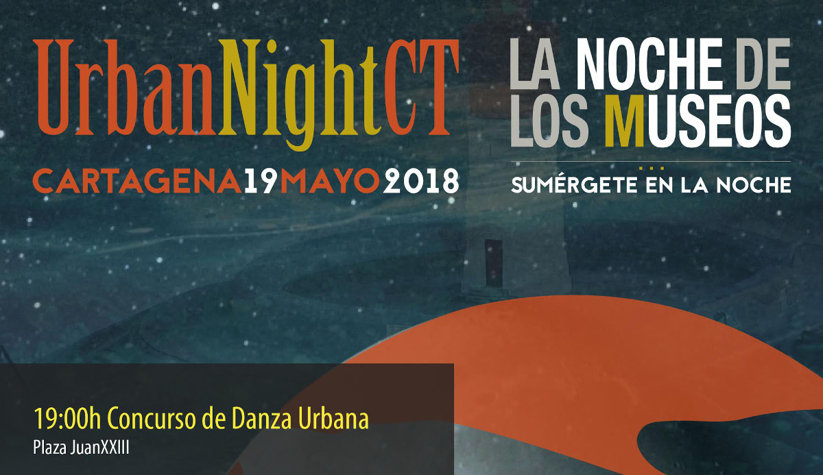 Cartel del Urban Night CT 2018