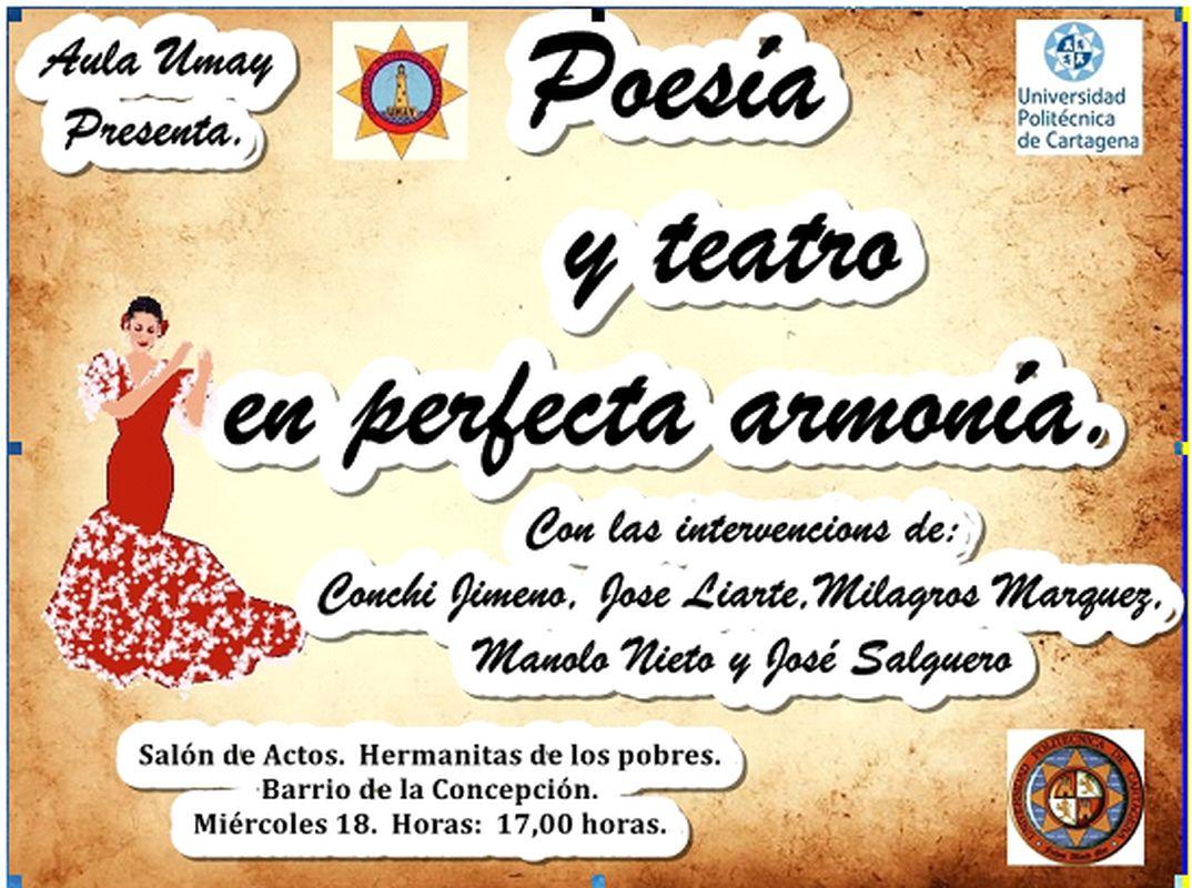 ¿Poesía y teatro en perfecta armonía¿