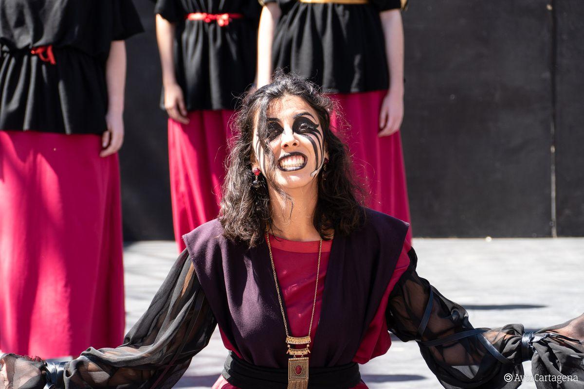 'Medea' arranca el Festival de Teatro Grecolatino de Cartagena