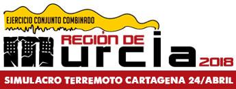 Simulacro de terremoto en Cartagena. 24 de abril 2018