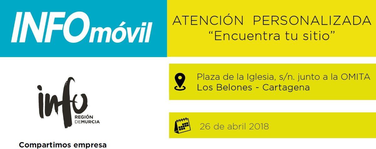 Infomóvil en Los Belones
