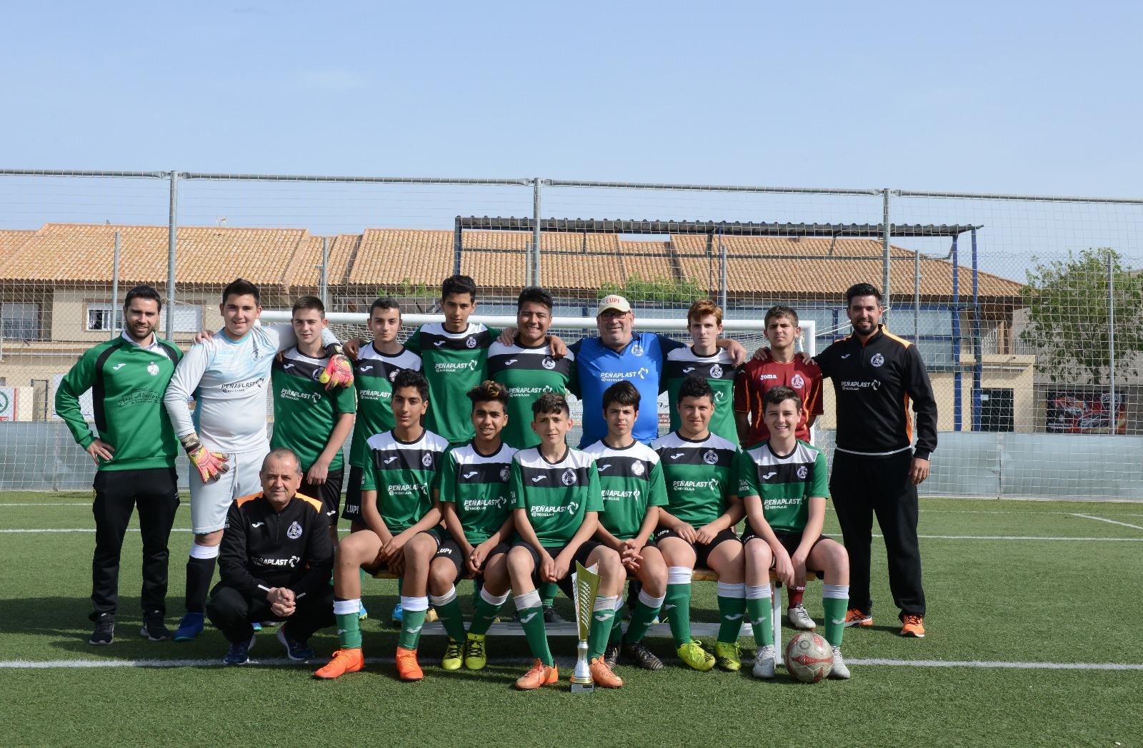 E.F. Balsicas se alza campeón de liga comarcal de fútbol en ... 2b66a8287cc8e