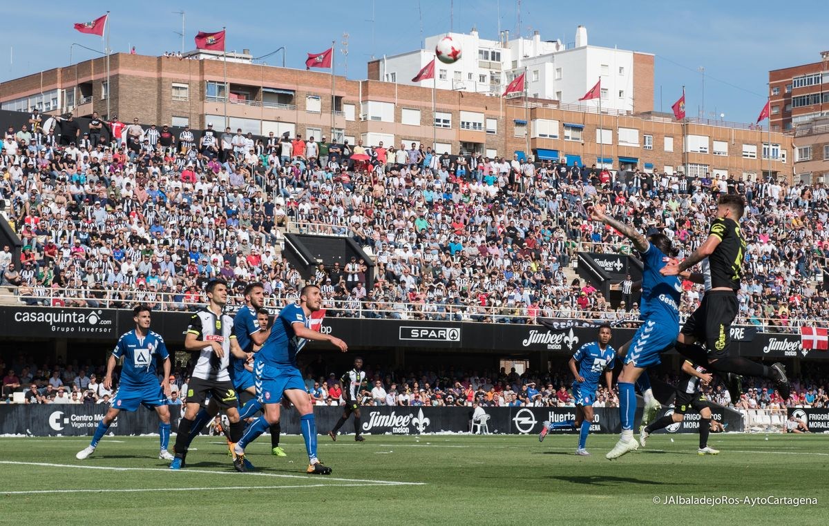Partido de ida Play Off F.C Cartagena - Rayo Majadahonda