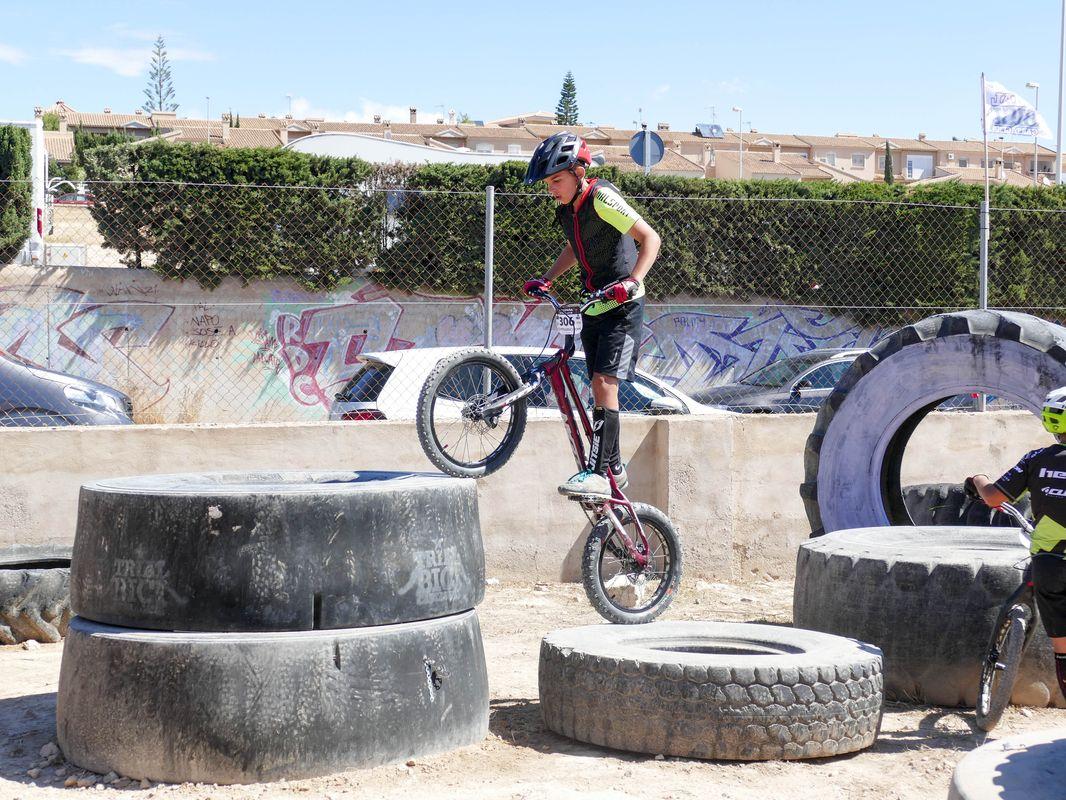 Imagen de archivo de la Copa de España de trial bici - Circuito del Club Trial Bici Cartagena