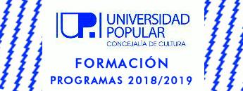 Universidad Popular Formación 2018/2019