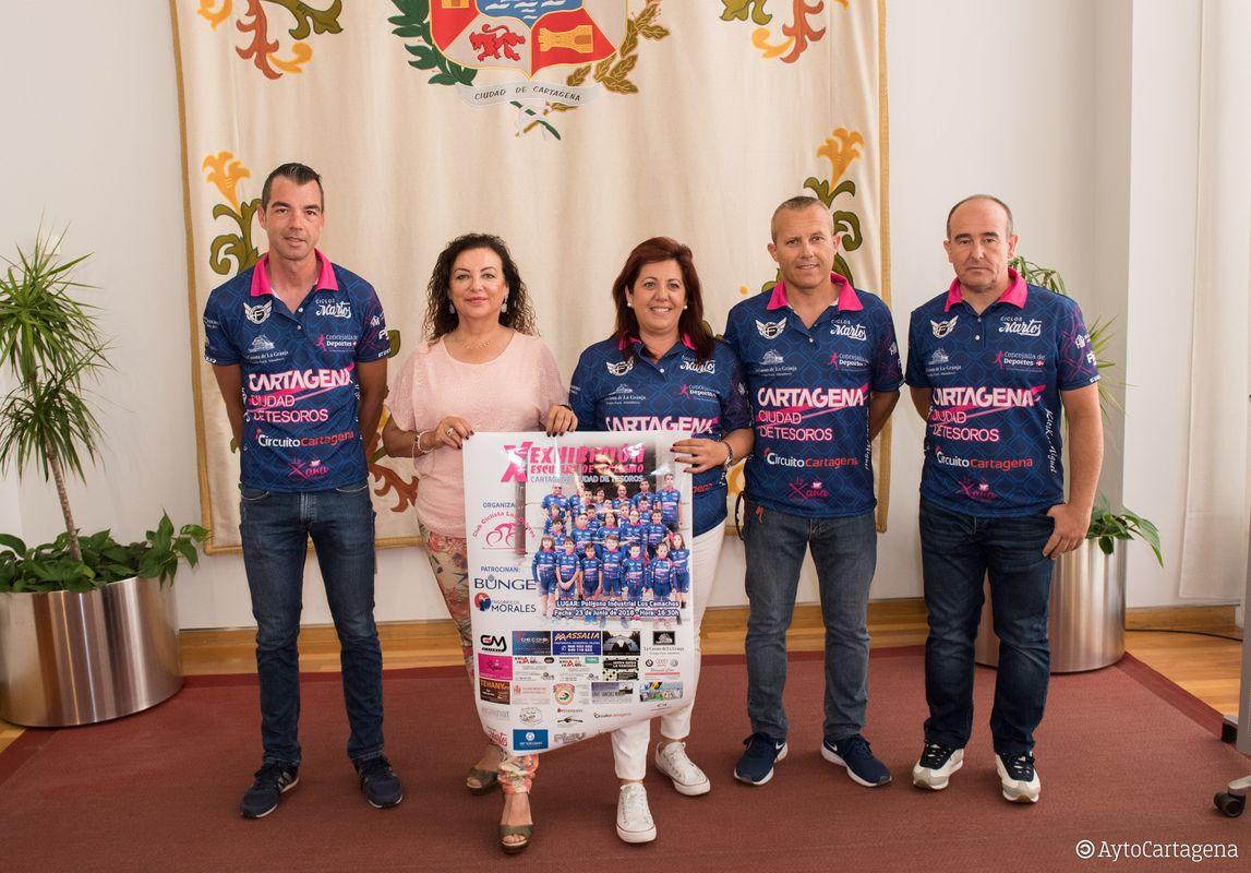 Presentación de la X Exhibición Escuelas de Ciclismo Cartagena Ciudad de Tesoros