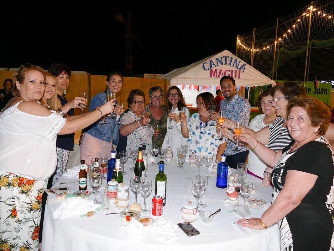 Las fiestas de El Albujón acogen la cena de la Asociación Mujeres ADESMA