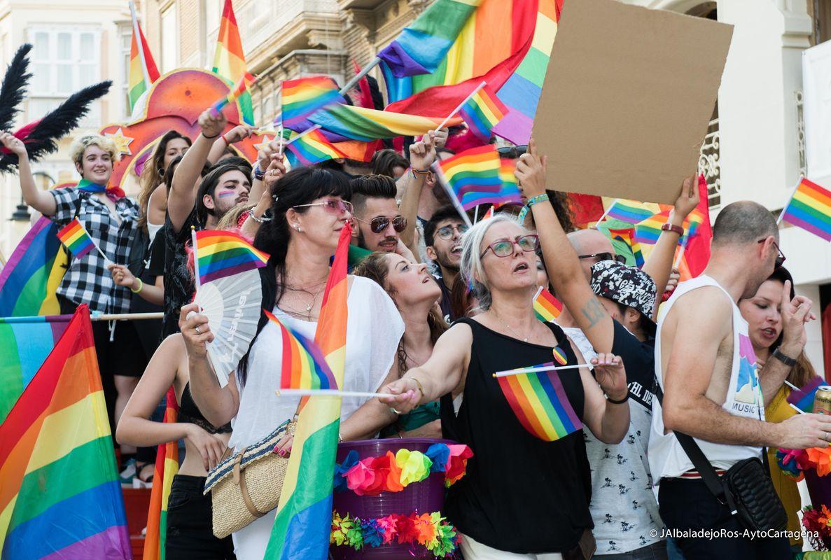Desfile del Orgullo LGTBIQ