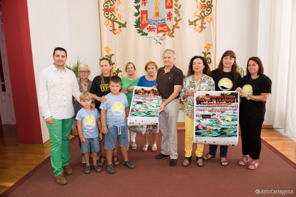 Presentación II  'Travesía Solidaria Playas de La Azohía'