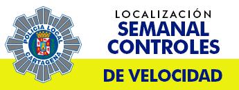 Localización de los controles de velocidad en Cartagena