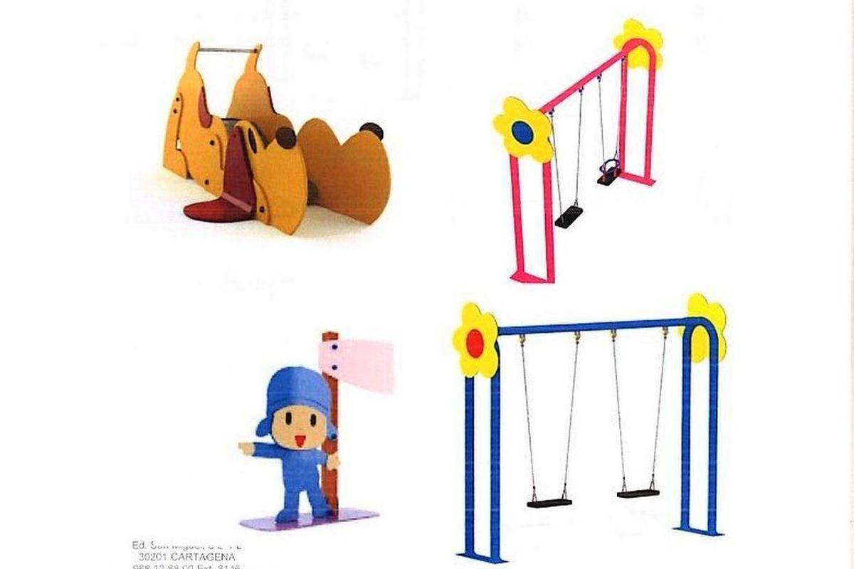 Proyectos parques infantiles