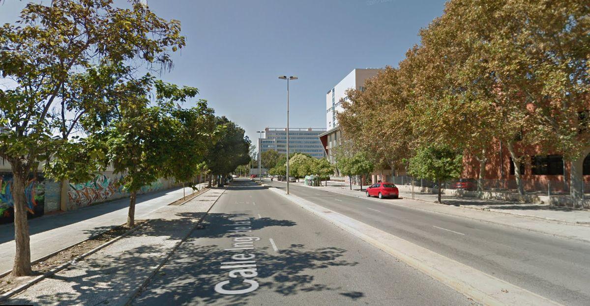 La avenida Ingeniero de la Cierva estará cerrada al tráfico durante el jueves y el viernes por obras