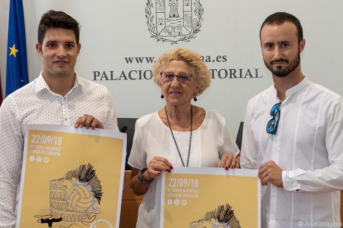 Presentación del III Torno de Waterpolo Ciudad de Cartagena