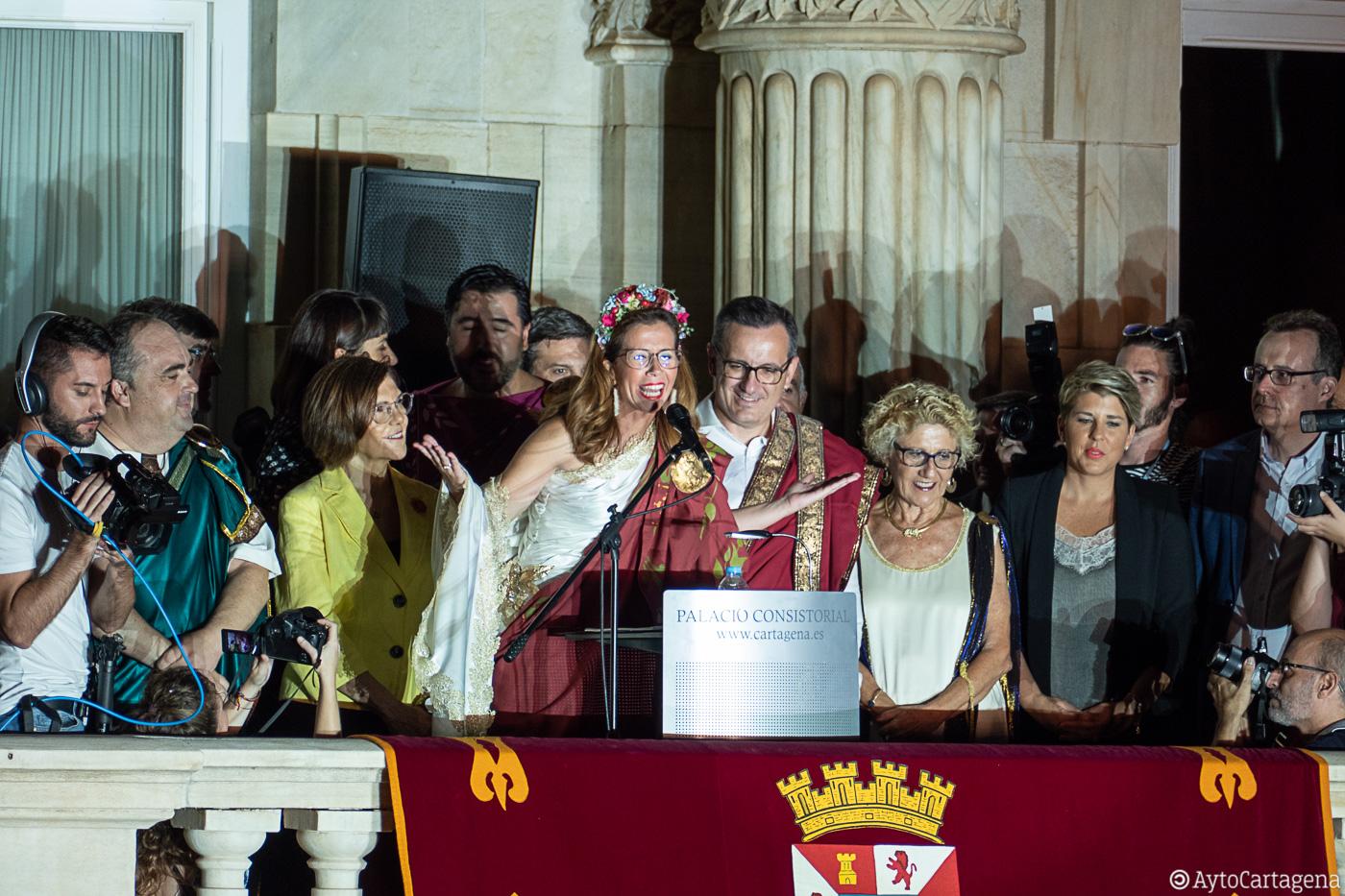 Castejón reivindica que Cartagena ocupe