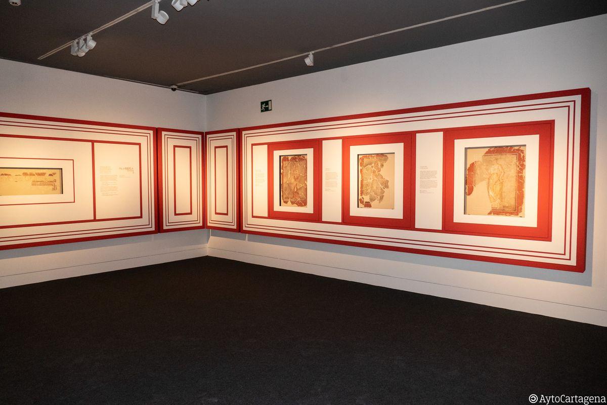 Exposición temporal Musas. Imagen de archivo
