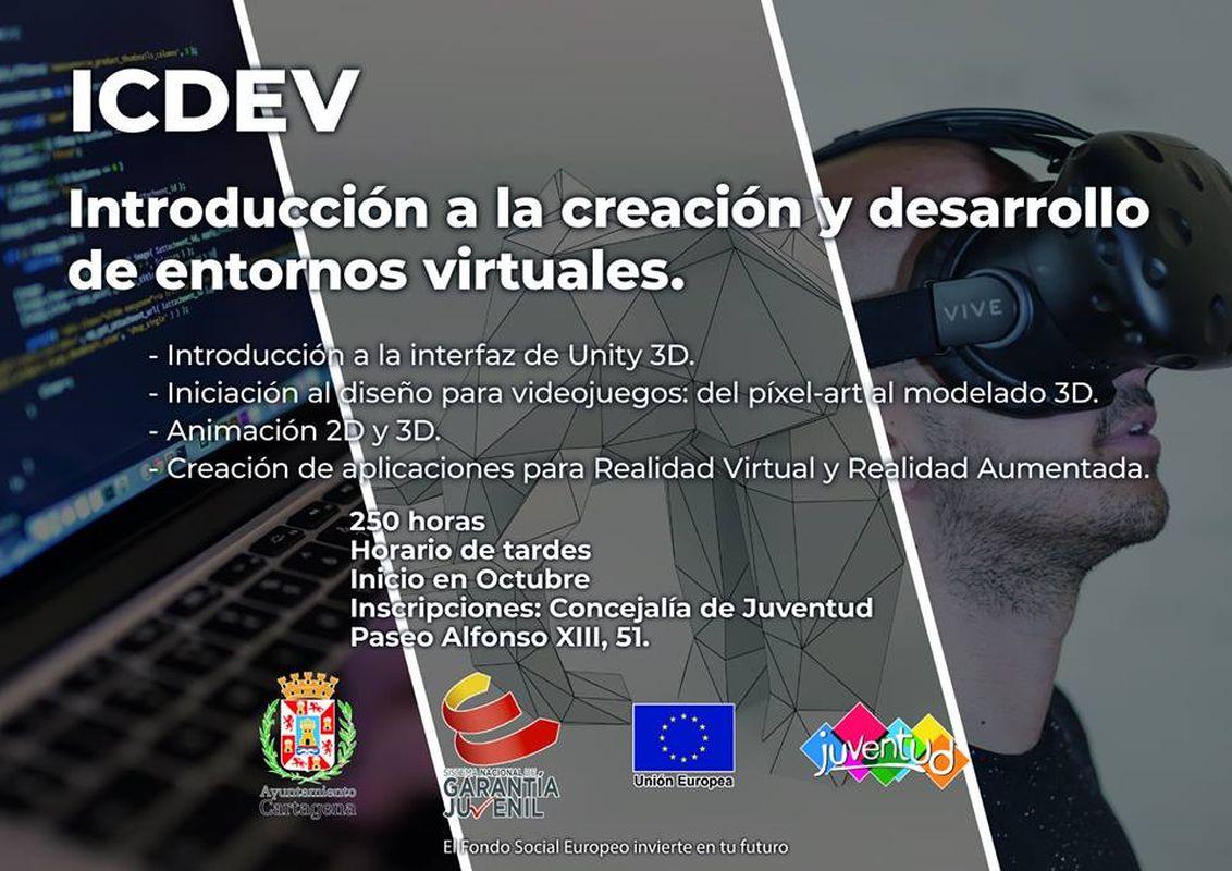 Curso de Creación y Desarrollo de Entornos Virtuales