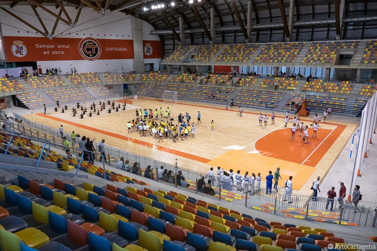 A punto, el nuevo Parqué del Palacio de Deportes