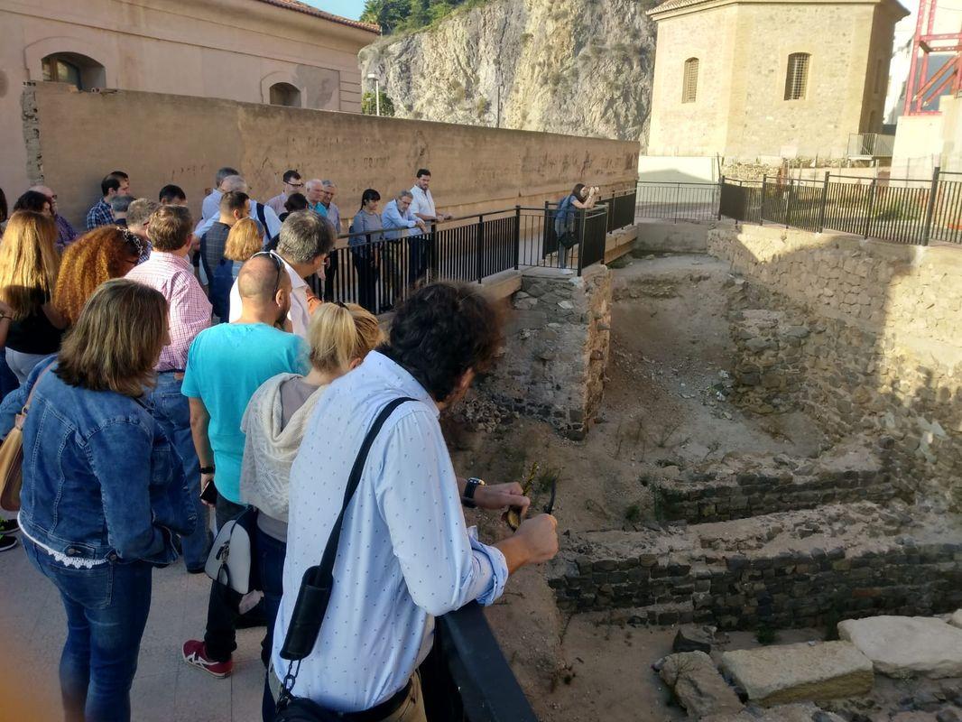 Visita al Anfiteatro en el marco de las Jornadas de Patrimonio