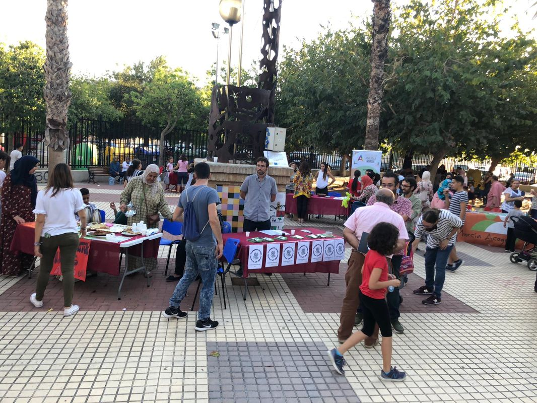 'Feria de la Ciudadanía' de San Antón y la Urbanización Mediterráneo