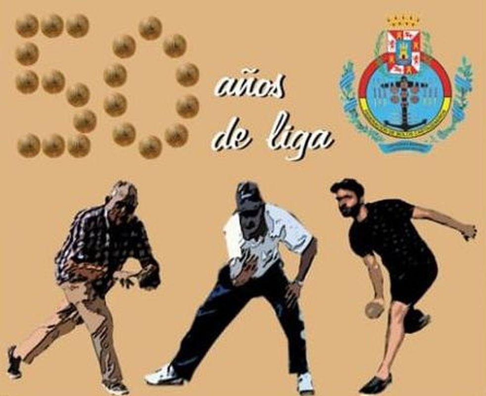Bolos Cartageneros '50 años de liga'