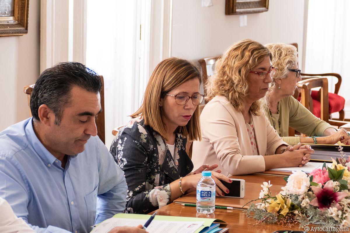 Consejo recto de la ADLE durante la reunión mantenida este 15 de octubre