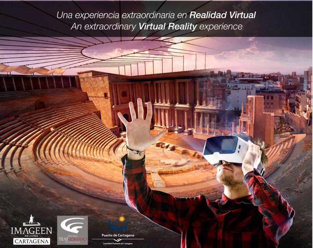 Visita Virtual al Teatro Romano de Cartagena: nuevas experiencias