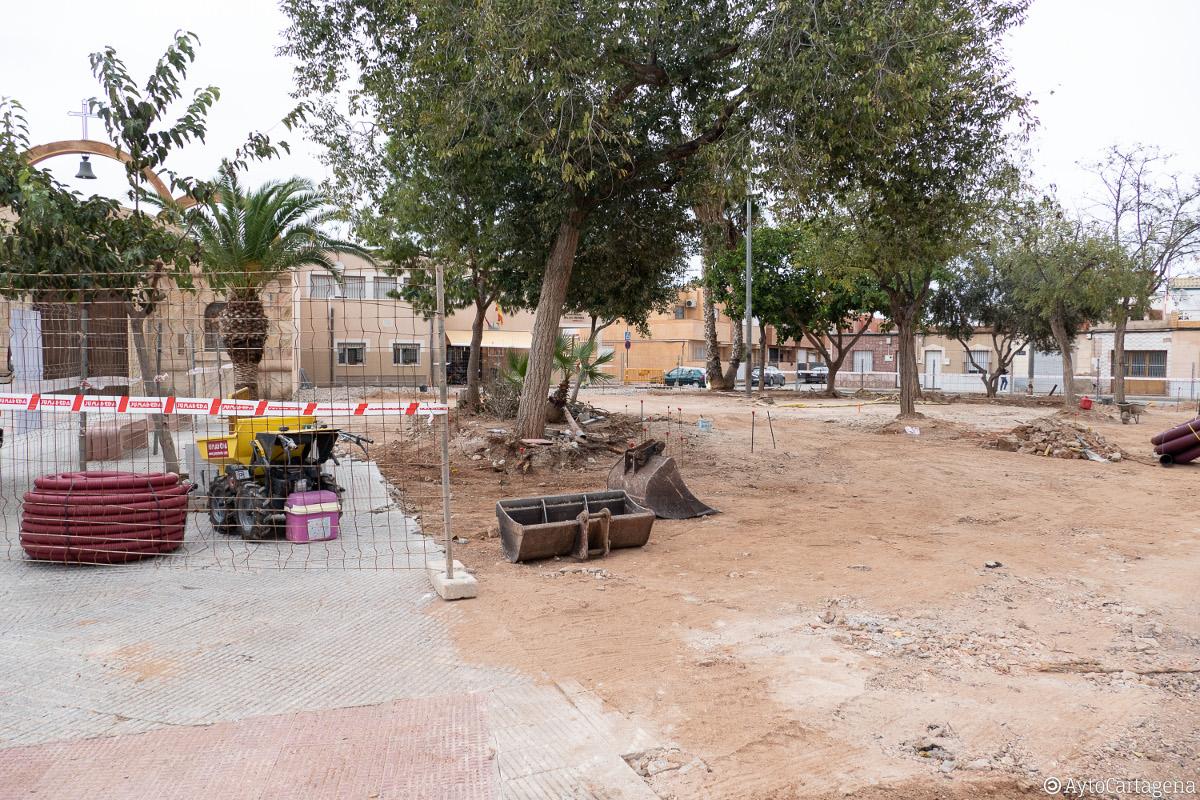 Remodelación de la Plaza Manuel de Falla del Bohío
