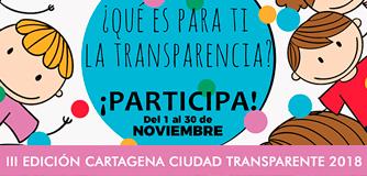 III Edición Concurso Cartagena Ciudad Transparente 2018