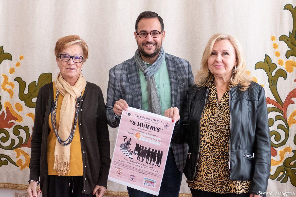 Obra de teatro '8 mujeres'- Grupo de teatro TANIT
