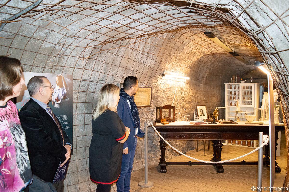 Presentación de la exposición Medicina en Tiempos de Guerra