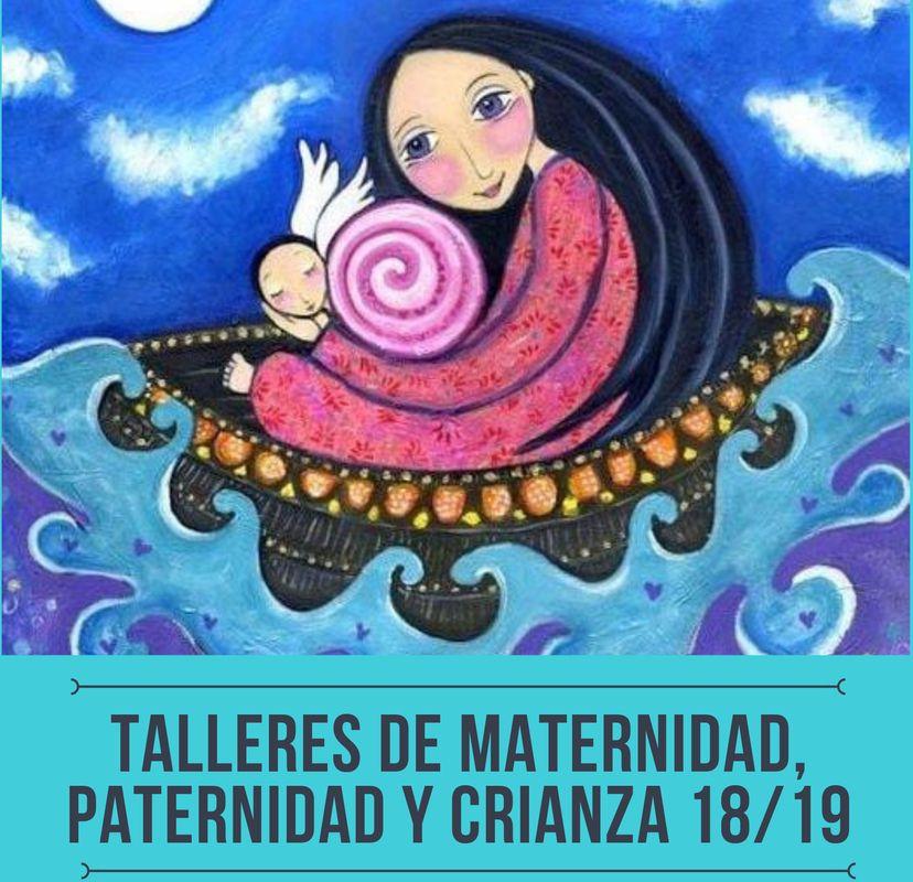 Talleres maternidad, paternidad y crianza Concejalía de Juventud